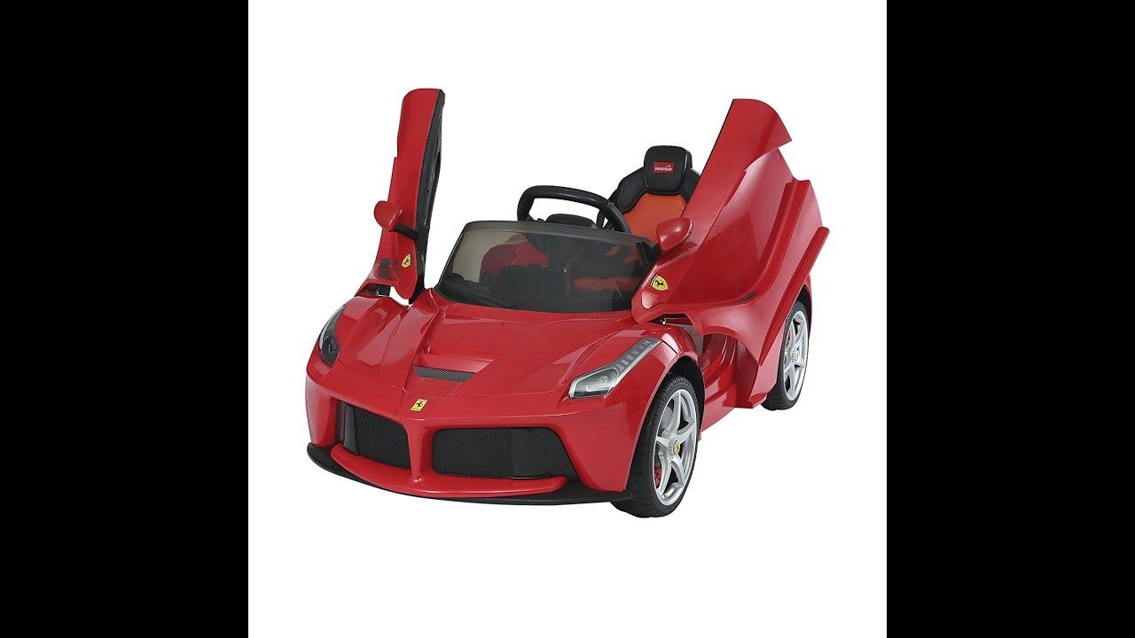 ferrari voiture pour les enfants aosom 12v ferrari. Black Bedroom Furniture Sets. Home Design Ideas