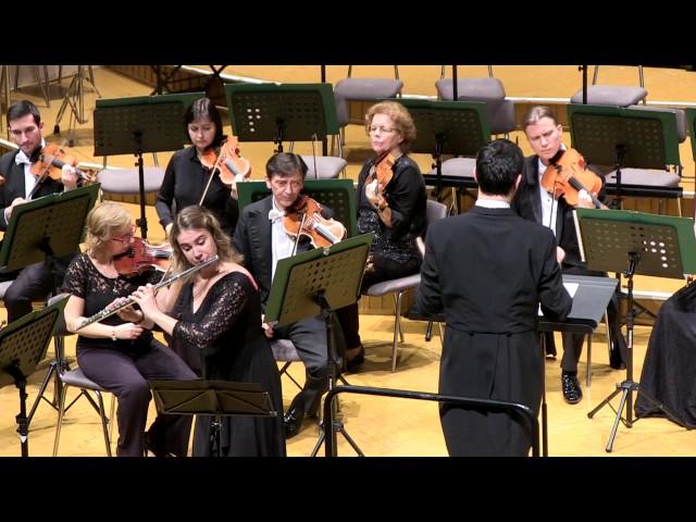 C.Ph.E Bach - Flute Concerto in D Minor, Andante - Iris Maaß