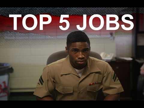 TOP 5 COOLEST JOBS IN THE MILITARY