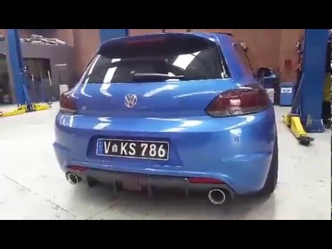 loudest vw scirocco r w armytrix performance exhaust by prestige auto works youtube. Black Bedroom Furniture Sets. Home Design Ideas