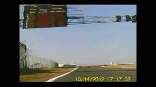 Karting. Oleg Kuzhel onboard. Crimea GP cup 2012 (first race)