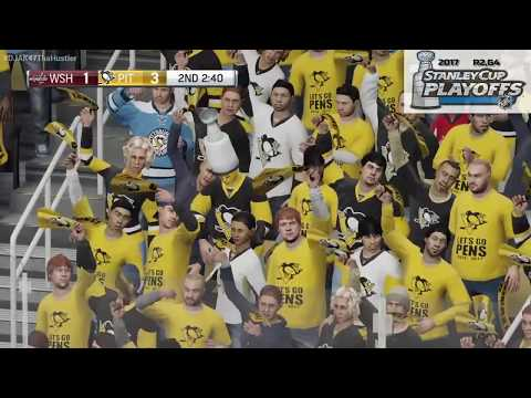 NHL 2017 Stanley Cup Playoffs | Washington Capitals @ Pittsburgh Penguins |R2,G4| Penguins Win G4!