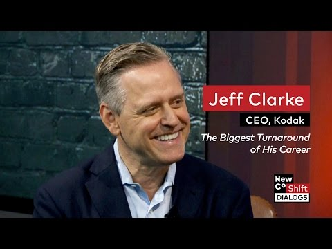 Kodak CEO Jeff Clarke on Kodak's turnaround, film, 3D printing and Kodakit | Shift Dialogs
