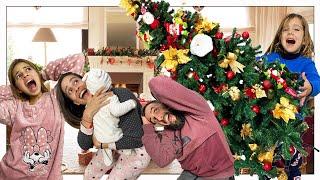 POR FIN DECORAMOS NUESTRA CASA DE NAVIDAD EN FAMILIA ENSEÑAMOS NUESTRO ÁRBOL | Familia Amiguindy