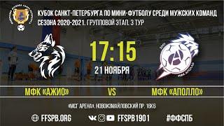 Мини-футбол Санкт-Петербурга - АЖИО - Аполло - VIDEOOO