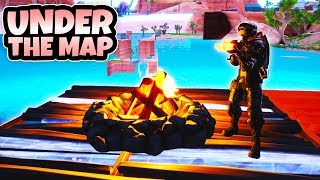 How to get *Under the map* in Season 8! (Fortnite glitch)
