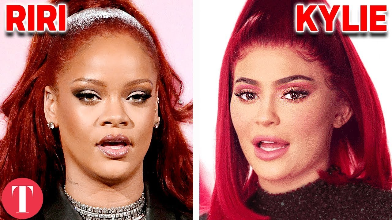 10 Times Kylie Jenner Copied Rihanna's Fashion