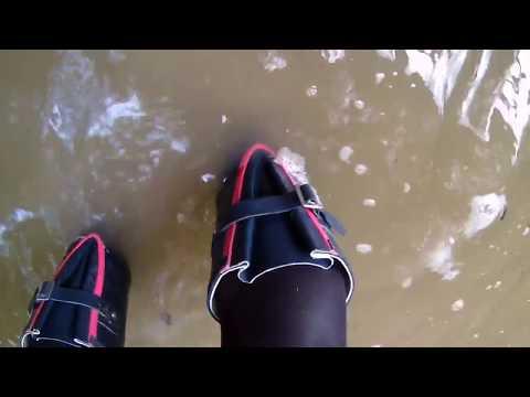 Hunter Boots Navy & Pink (2)