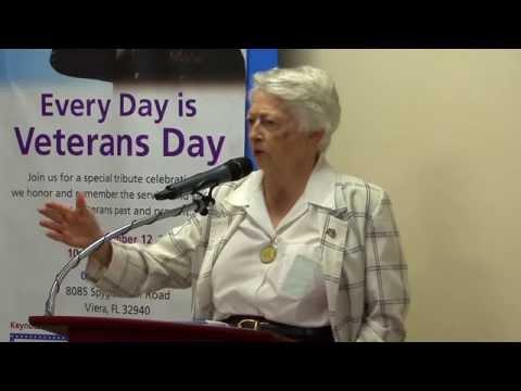 Wilma Vaught, Brigadier General, USAF (Ret.) Speaks at One Senior Place
