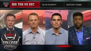 More likely two-playoff-team conference: Big Ten or SEC? | College Football Live | ESPN
