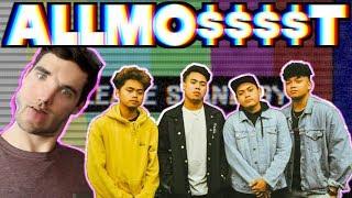 [WHITE BOY REACTS] Allmo$t Performs Dalaga Live on Wish 107.5 Bus