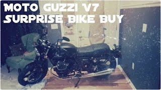 Moto Guzzi V7 Surprise Bike Buy