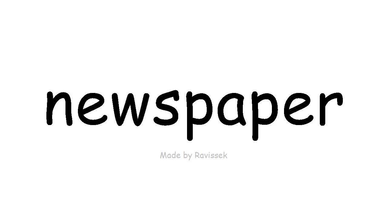 Zeitung Englisch