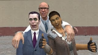 Garrys Mod w Nanners and Mark  Space Ship