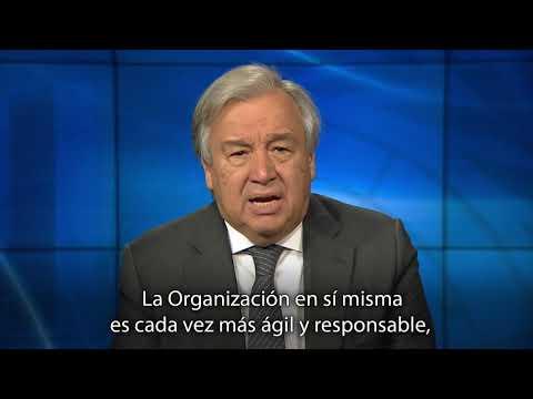 Mensaje del Secretario General con motivo del Día de las Naciones Unidas