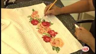 Alciana Rossi ensina a fazer uma linda toalha com a Decore Fix