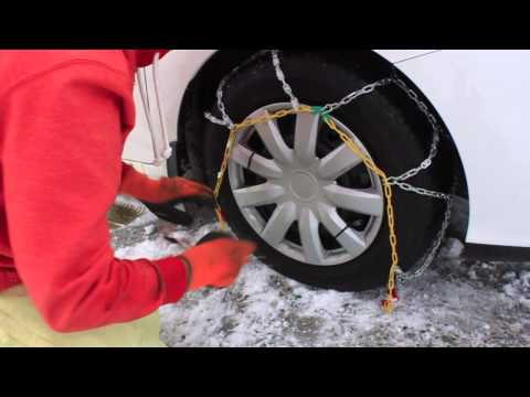 How to fit Snow Chains - Quick-Grip