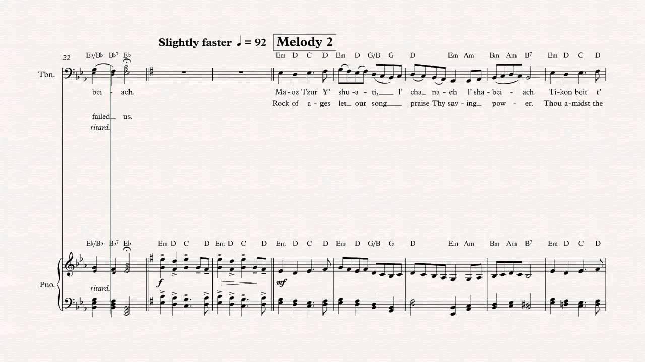 Trombone rock of ages hanukkah song sheet music chords trombone rock of ages hanukkah song sheet music chords vocals hexwebz Choice Image