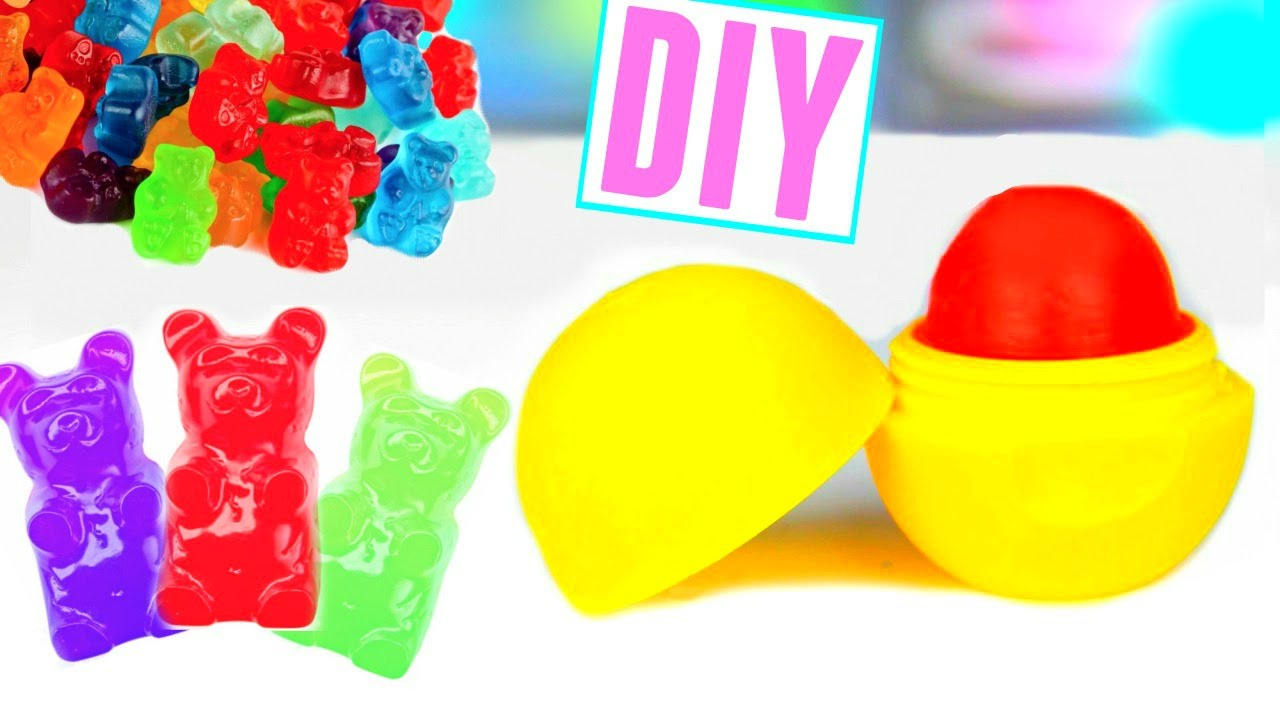 Make Lip Balm Out Of Candy!  Youtube