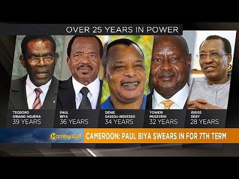 Cameroon's president Paul Biya begins new seven-year term [The Morning Call]