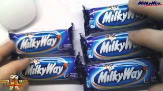 Распаковка и Обзор Еды Шоколадный Батончик