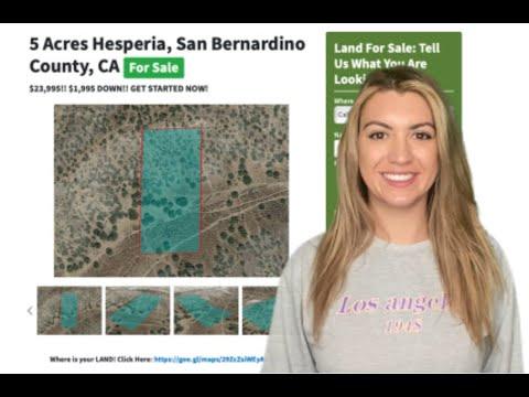 5 Acres Hesperia Property in San Bernardino County, CA