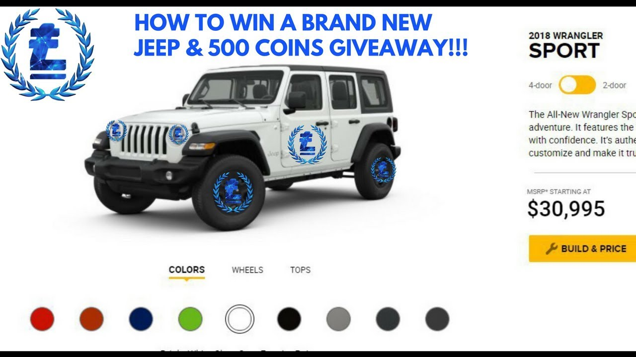 $400K SOFT CAP TO WIN A JEEP WRANGLER U0026 MY 500 COINS GIVEAWAY!!!