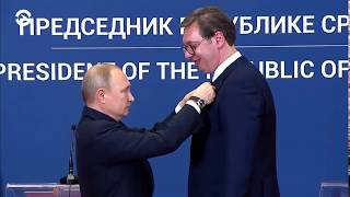 Белград встречает Путина | ВЕЧЕР | 17.01.19
