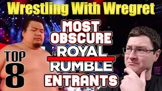 Top 8 Most Obscure Royal Rumble Entrants | Wrestling With Wregret