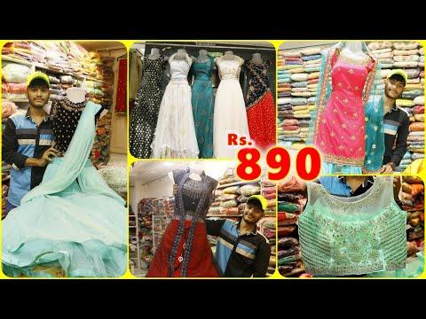 General Bazar Retail Shopping, Partywear Longfrocks, Crop To