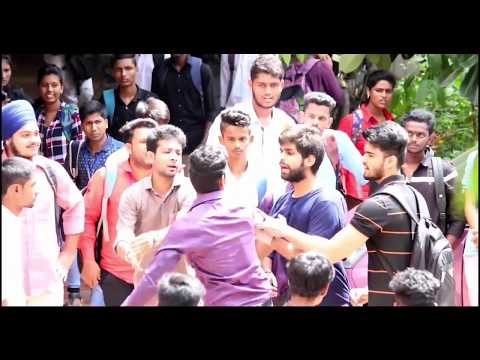 Must watch PRANK IN COLLEGE GONE EXTREMELY WRONG n VIOLENT  PRANKS IN INDIA  Prank gone wrong !
