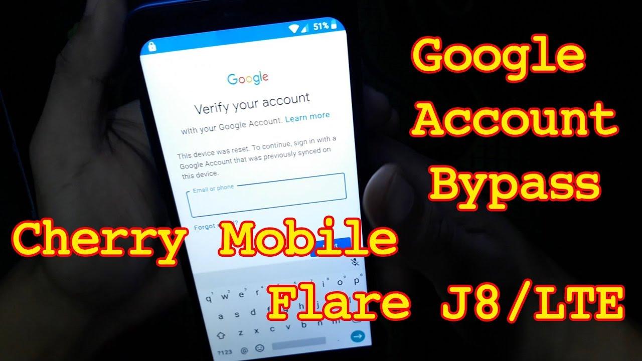 Cherry Mobile | Flare J8 | LTE | J2 2018| J3 Mini | J6s | FRP Bypass | No  Need PC