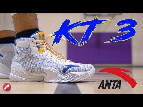 Anta KT 3 (Klay Thompson) Performance Review! AMAZING Performer!