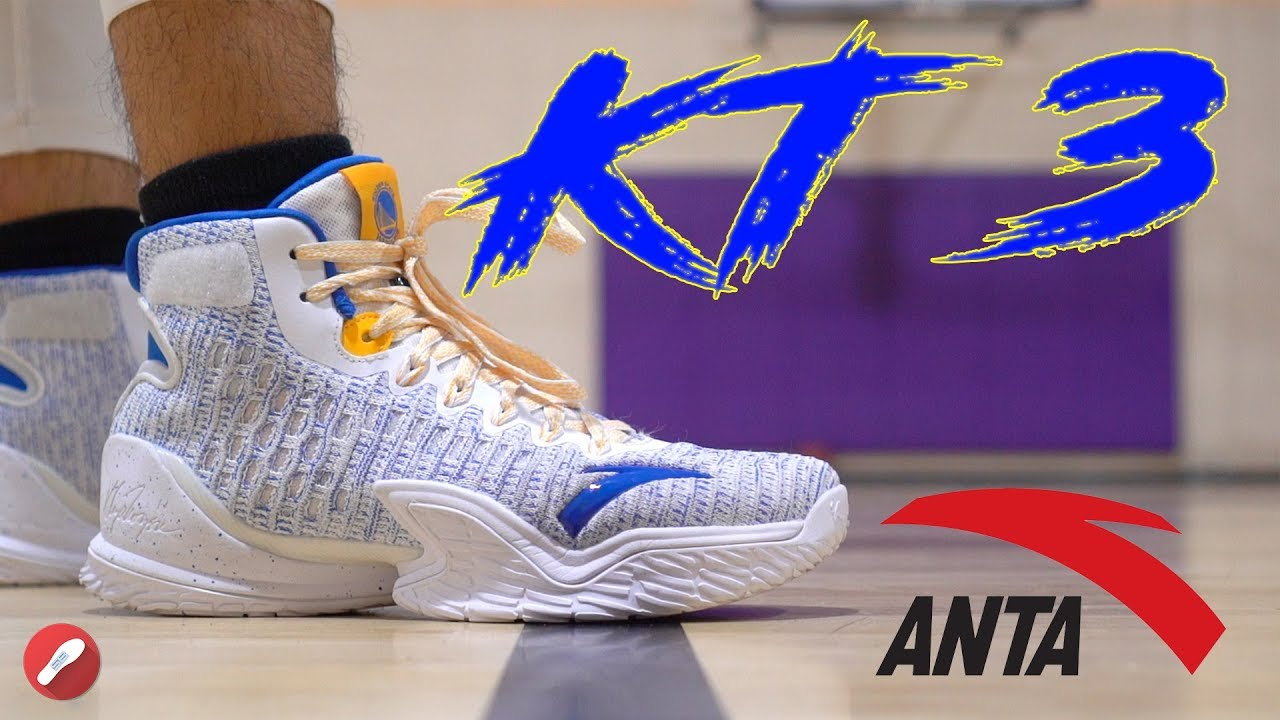 439f01c88e Anta KT 3 (Klay Thompson) Performance Review! AMAZING Performer ...