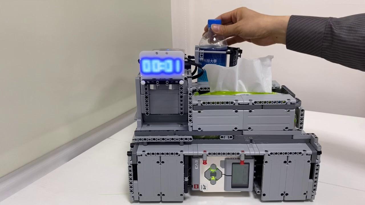 正修科技大學資管系智慧創客中心 × 熊貓發明家機器人教室-【IOT服務型機器人】 - YouTube