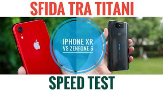 Speed Test iPhone XR vs Asus Zenfone 6