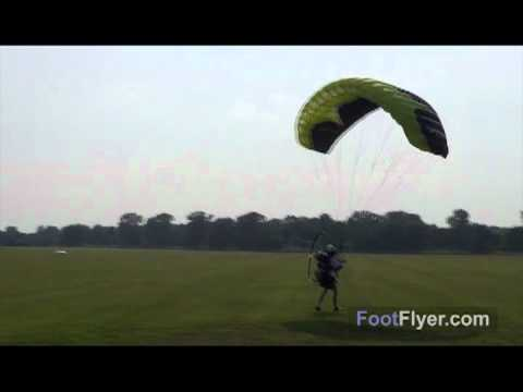 Powered Paragliding Speed Wing Windy