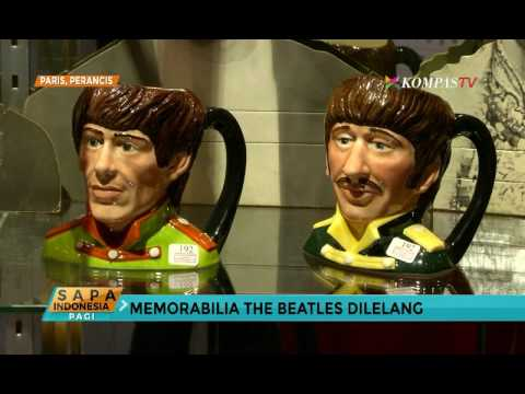 """Barang Memorabilia """"The Beatles"""" Dilelang"""
