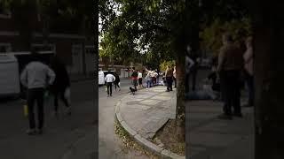 Choque en Jacinto Ríos esq. Potosí