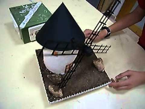 Molino de viento mov youtube - Como construir un tejado ...