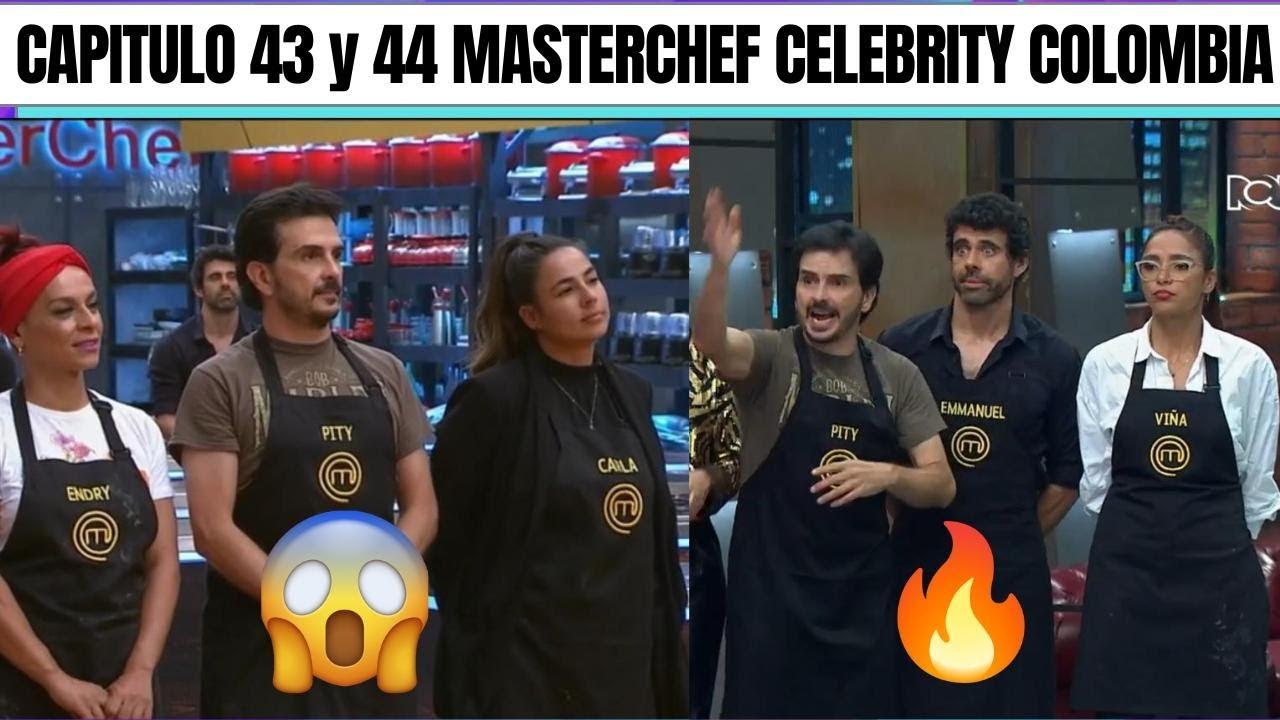 Capitulo 43 Y 44 Masterchef Celebrity Colombia 2021 Youtube