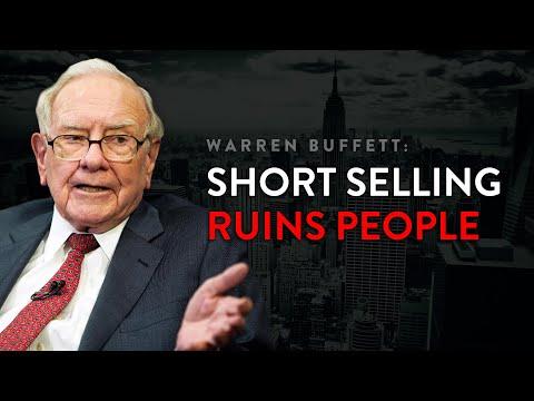 Why Warren Buffett Avoids Short Selling