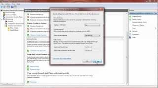 Windows 7 : Firewall - Setup, Configuration & General Use