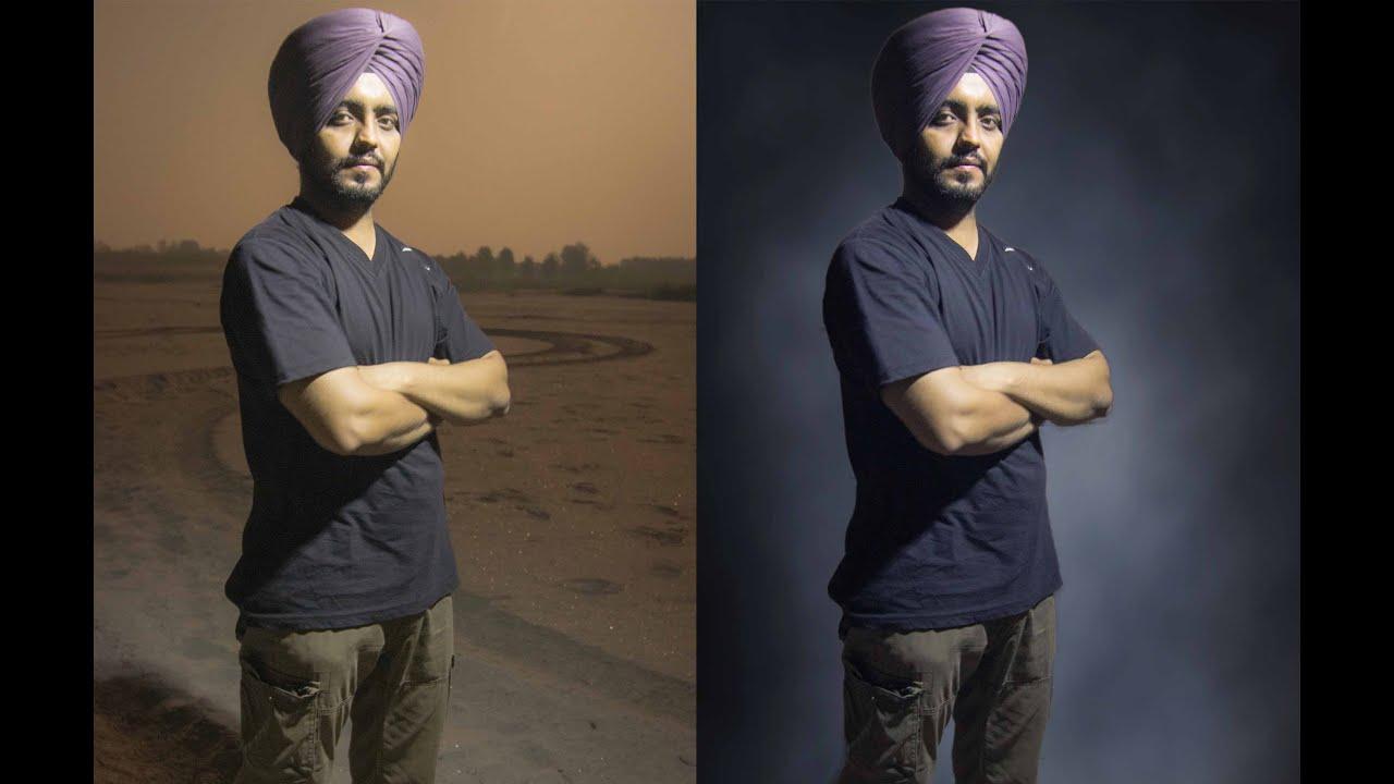 Adobe Photoshop Cs6 Tutorials Remove Or Change Background Of Portrait Image Youtube