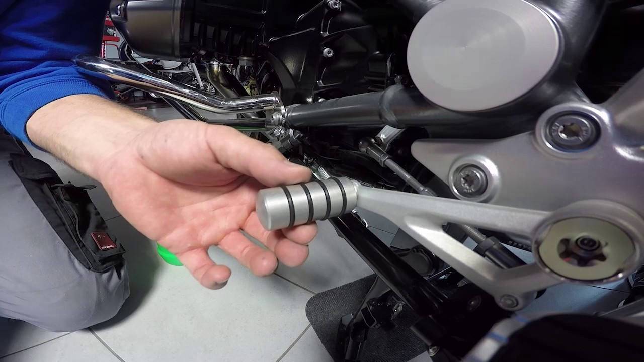 Hornig Shift Lever Extension for Various BMW Motorcycles