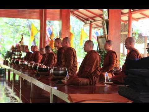 Wat Tam Wua - Buddhist Forest Monastery in North Thailand - Slideshow