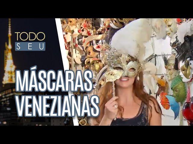 Máscaras de Carnval - Todo Seu (05/03/19)