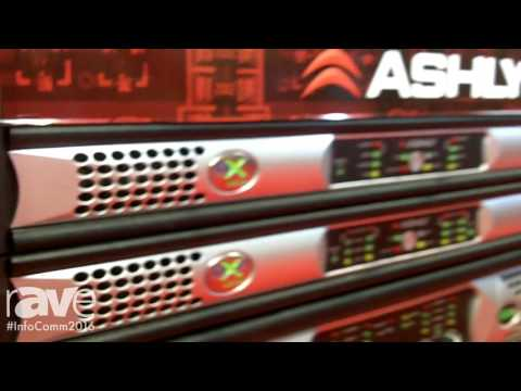 InfoComm 2016: Ashly Audio Launches Single-Space nX Series Amplifiers