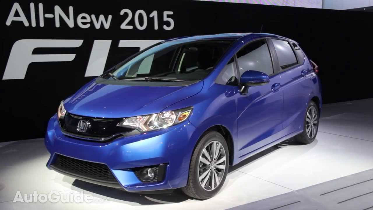 2015 Honda Fit 2014 Detroit Auto Show Youtube