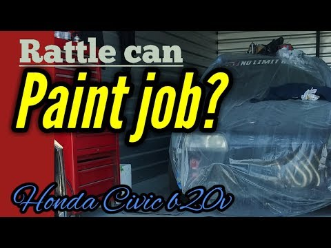 Painted My Civic With Rust-Oleum Spray Paint